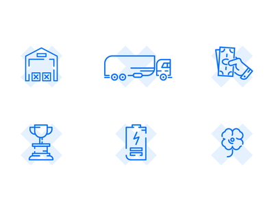 light icons for web