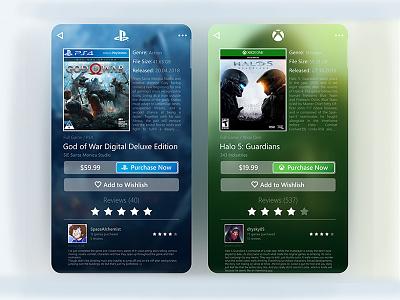Digital Game Store App marketplace webdesign landing mobile design product ux ui game interface dashboard app