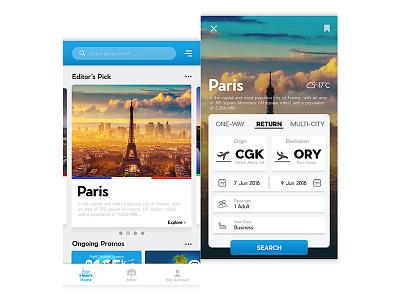 Travel App Concept flow select mobile design product ux ui travel interface card app