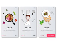Recipe App Onboarding Screen