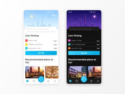 Reimagining Tranjakarta (City Bus) Mobile App