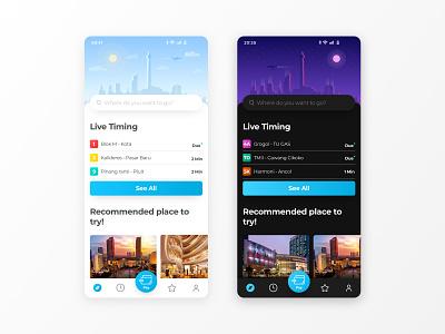 Reimagining Tranjakarta (City Bus) Mobile App travel travel app vector illustration product branding mobile interface design app ui