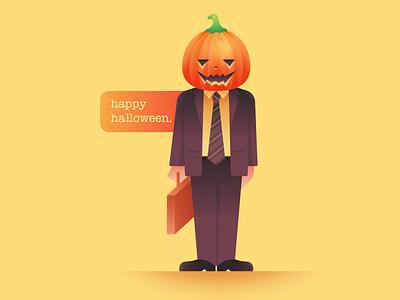 Dwight Schrute dwight schrute dwight office the office pumpkin halloween vector character illustration