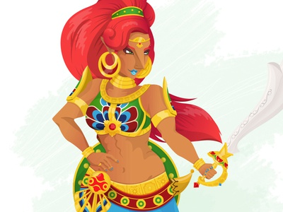 The Gerudo Champion