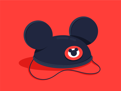 Mickey Hat mouse vector illustration mickeymouse disney world hat mickey disney
