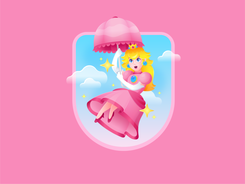 Princess Peach Designs Themes Templates And Downloadable Graphic