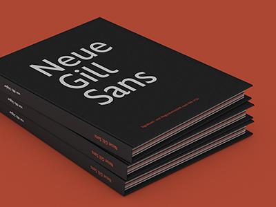 Neue Gill Sans din documentation editorial wayfinding gill sans font