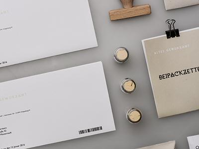 Corporate Design Spice branding corporate folder packaging spice