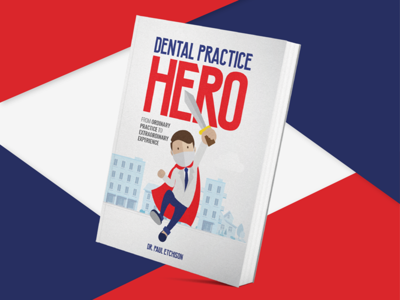 Book Cover Artwork Dental Practice Hero concept clean flat hero book dental practice city colorful illustration artwork book cover