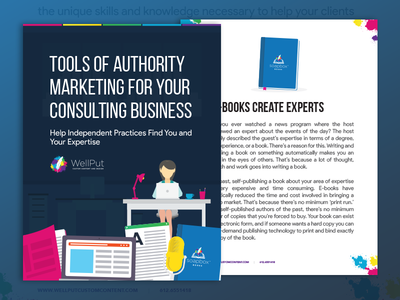 Tools of authority marketing for consulting business