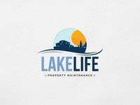 Lake Life Property Maintenance Logo