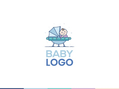Baby Universe Logo Illustration For Sell