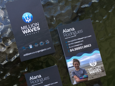 Million Waves Project Executive Business Cards