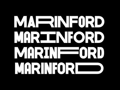 Marinford - Free Font logo sans serif free typeface decorative display font type typeface freebie free font free