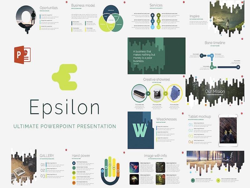 Epsilon free powerpoint template by pixel surplus dribbble toneelgroepblik Choice Image