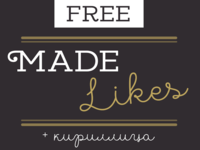 MADE Likes - Free Font Duo