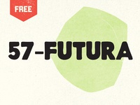 57-Futura Free Vintage Font