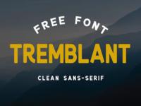 Tremblant - Free Font