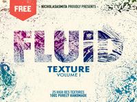 Fluid - Free Handmade Texture Pack