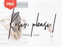 Roses, Please! Free Signature Script