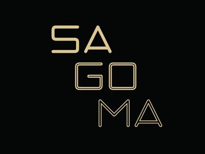 SAGOMA - FREE FONT - 3 STYLES
