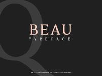 BEAU - FREE SERIF TYPEFACE