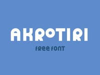 AKROTIRI - FREE DISPLAY FONT
