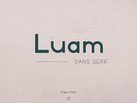 LUAM - FREE SANS SERIF FONT