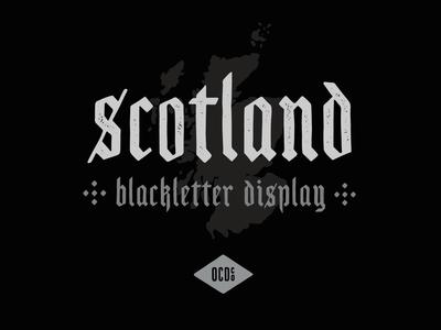 Scotland - Free Blackletter Display Font