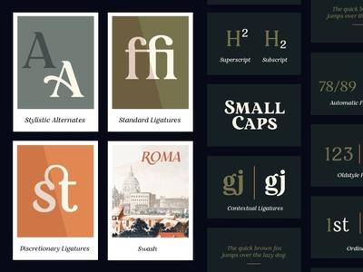 Restora - Free Serif Font ligatures font family serif typeface serif vintage display font typeface freebie free font free