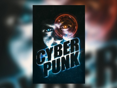 Free Cyberpunk Text Effect technology tech future futuristic dystopian bladerunner 80s retro ps photoshop glow psd text effect design type freebie free