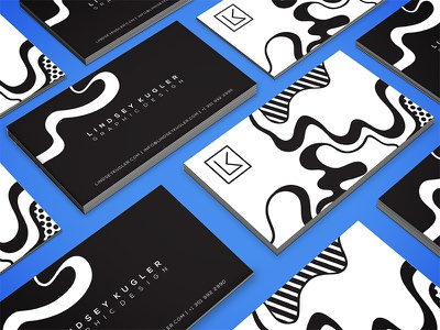 Business Card stationary black and white personal branding brand identity identity design business cards