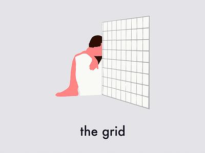 The Grid illustration design lisbon film poster poster film