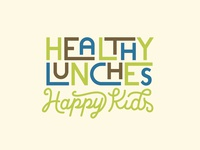 Healthy Lunches happy kids