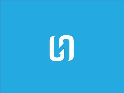 Hookline Logo monogram h hook mark branding brand logo