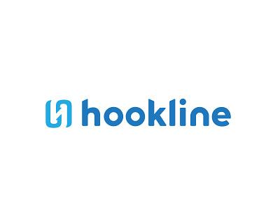 Hookline Brand typography type identity property monogram h mark wordmark logo hook app brand