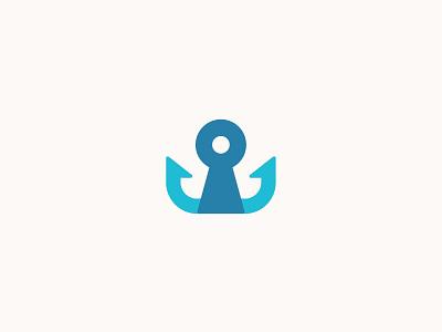 Hookline Logo Rd 2 hookline hook property keyhole key app branding mark identity startup brand logo