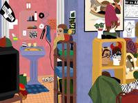 Enid's Bedroom - Ghost World