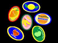 Fuit Stickers