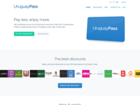 UruguayPass home page