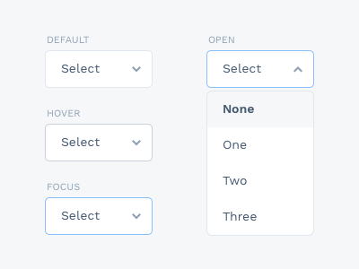 Dropdown states forms form freebie sketch select interaction ui dropdown