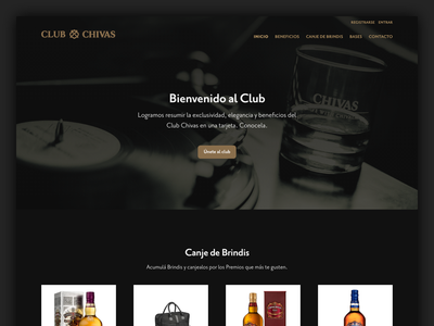 Club Chivas Home Page page landing home