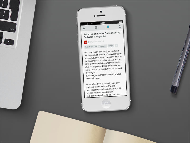 News App - Article by Afshin Gholami on Dribbble