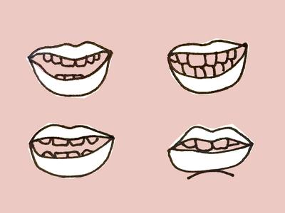 /lei/deez/nigh/t/ ladies night pronunciation lips design illustration sketch