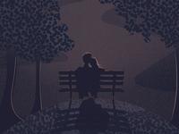 A Quiet Night – detail shot