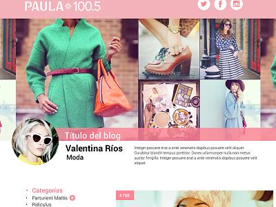 Blog web design web website blogs