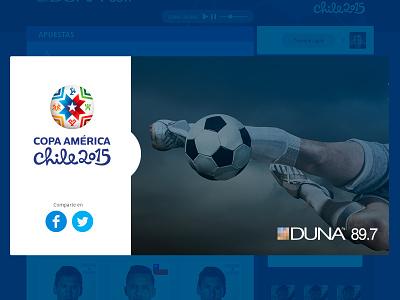Especial Copa América copa américa web