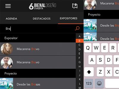 App Bienal Diseño bienal app