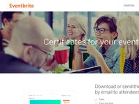 Eventbrite Certificates