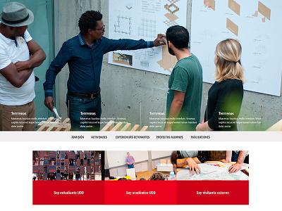 Arquitectura Udd architecture web design web